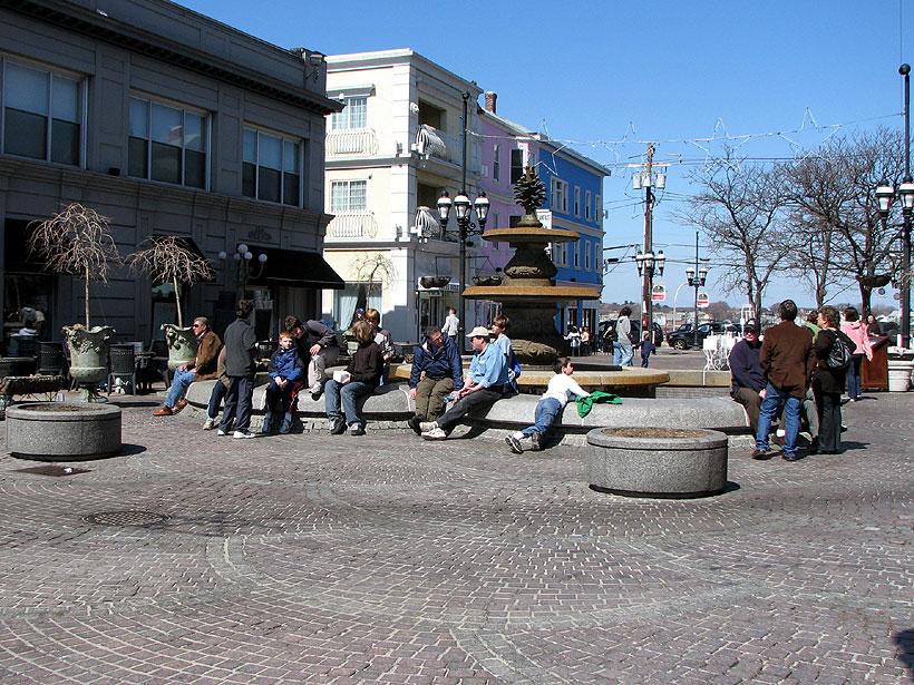 Providence RI De Pasquale Plaza