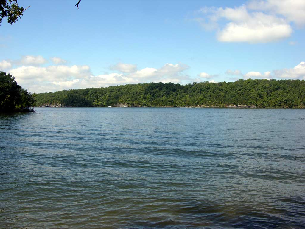 A portion of Lake of the Ozarks
