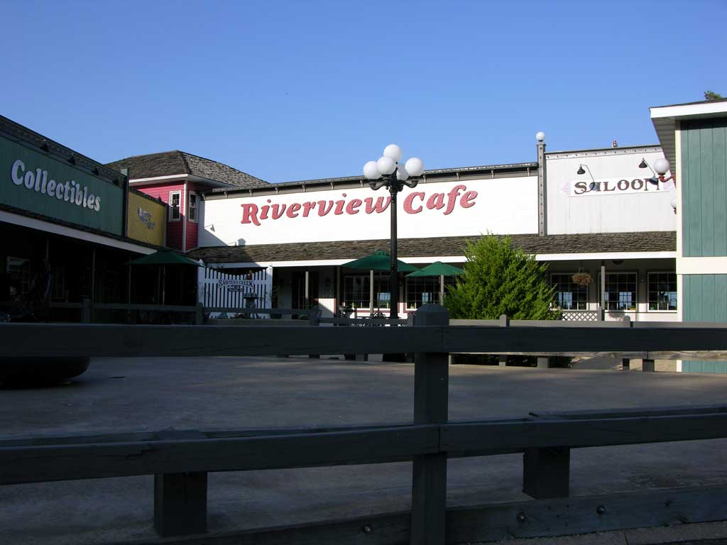 Riverview Cafe in Sawyer's Creek in Hannibal, Missouri
