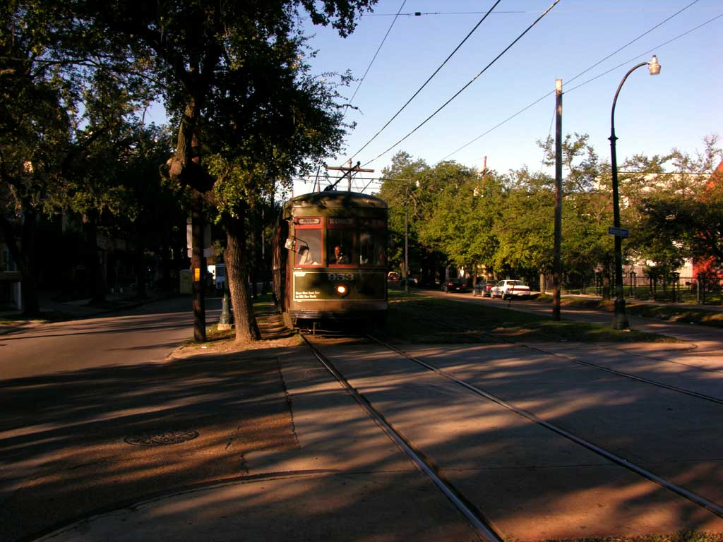 The St. Charles Avenue Trolley
