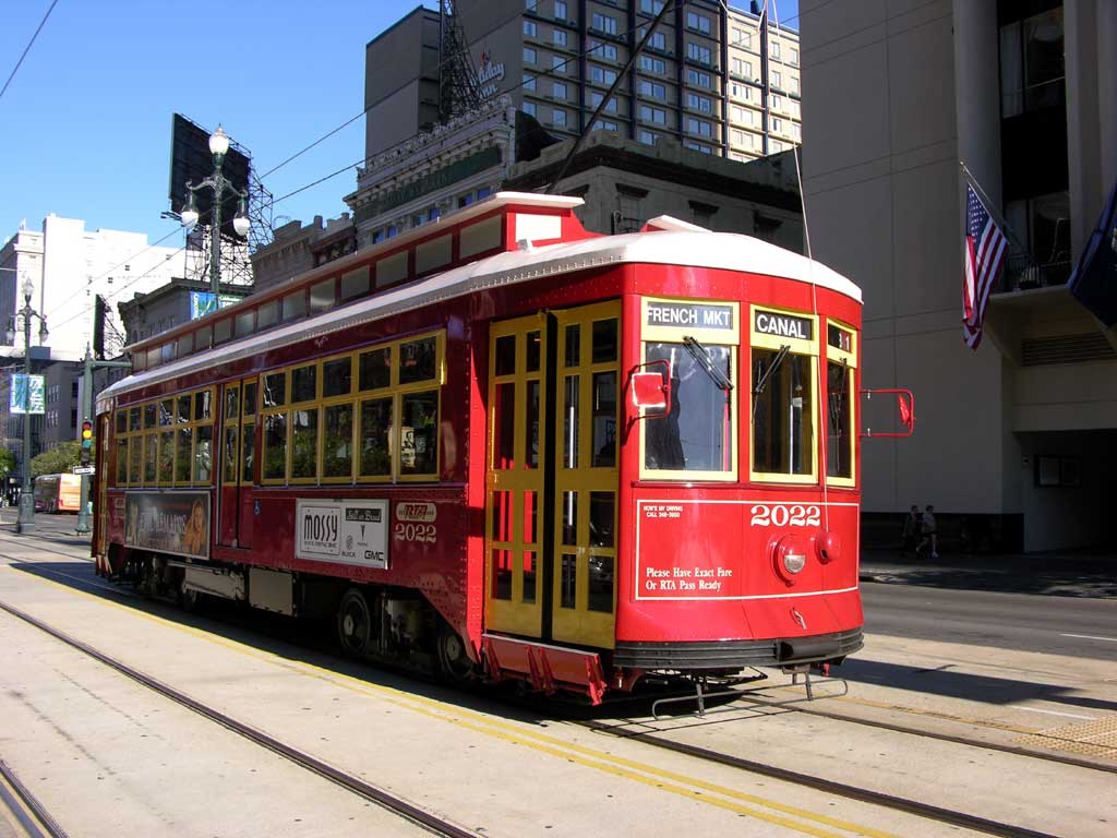 The Canal Street Trolley