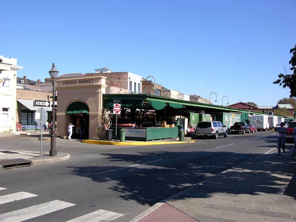 Decatur Street and the Historic French Market