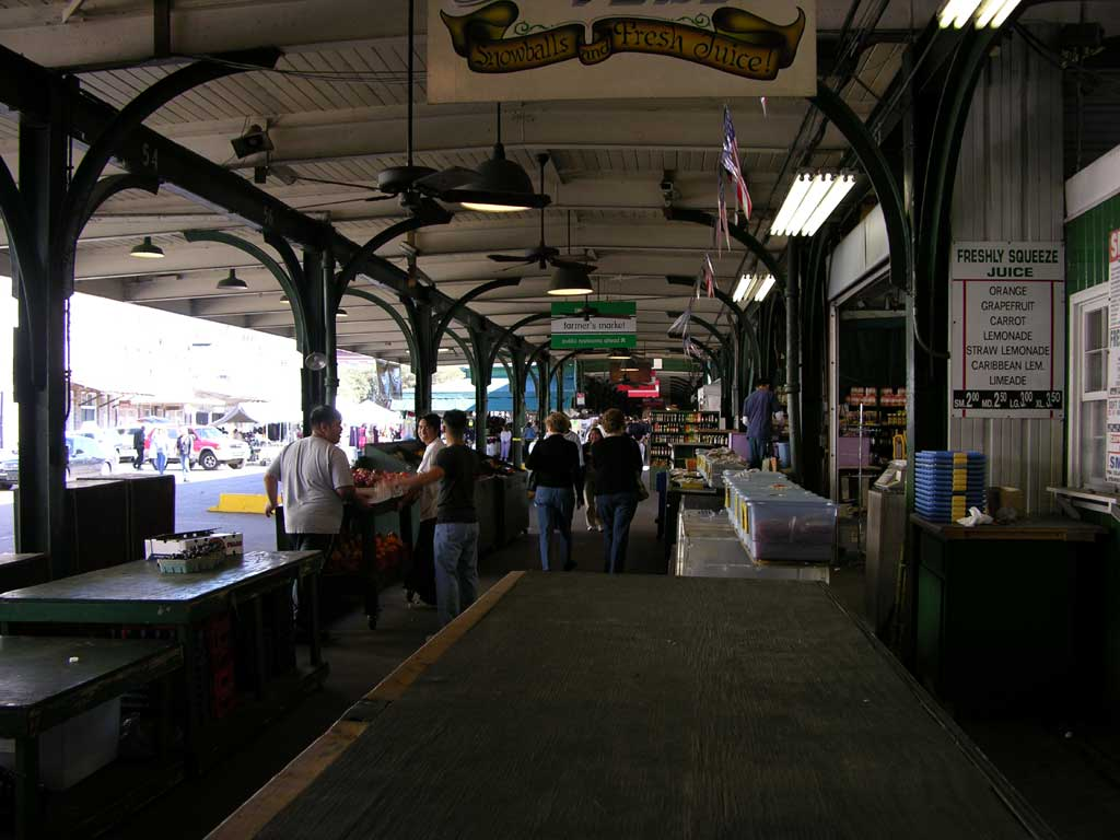 The Farmer's Market in the Historic French Market