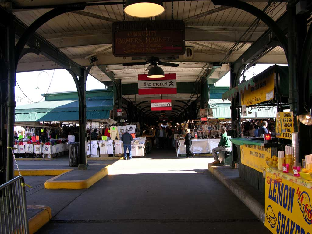 The Flea Market in the Historic French Market