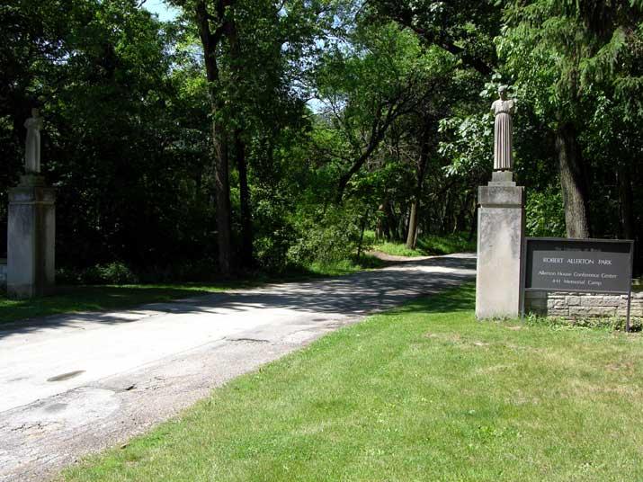 Allerton Park entrance