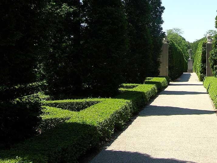 Allerton Park Triangle Parterre Garden
