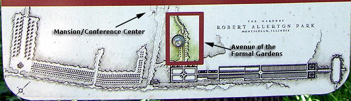 Allerton Park map