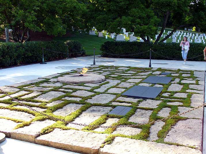Arlington National Cemetary President John F. Kennedy gravesite