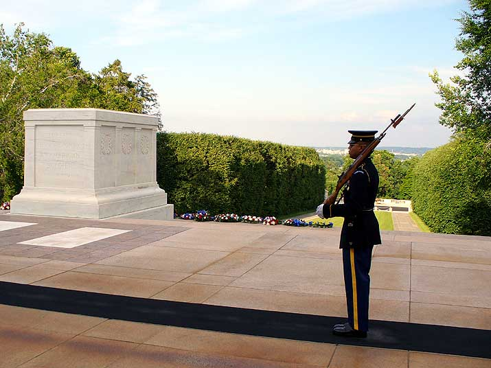 Arlington National Cemetary Tomb of the Unknown Soldier