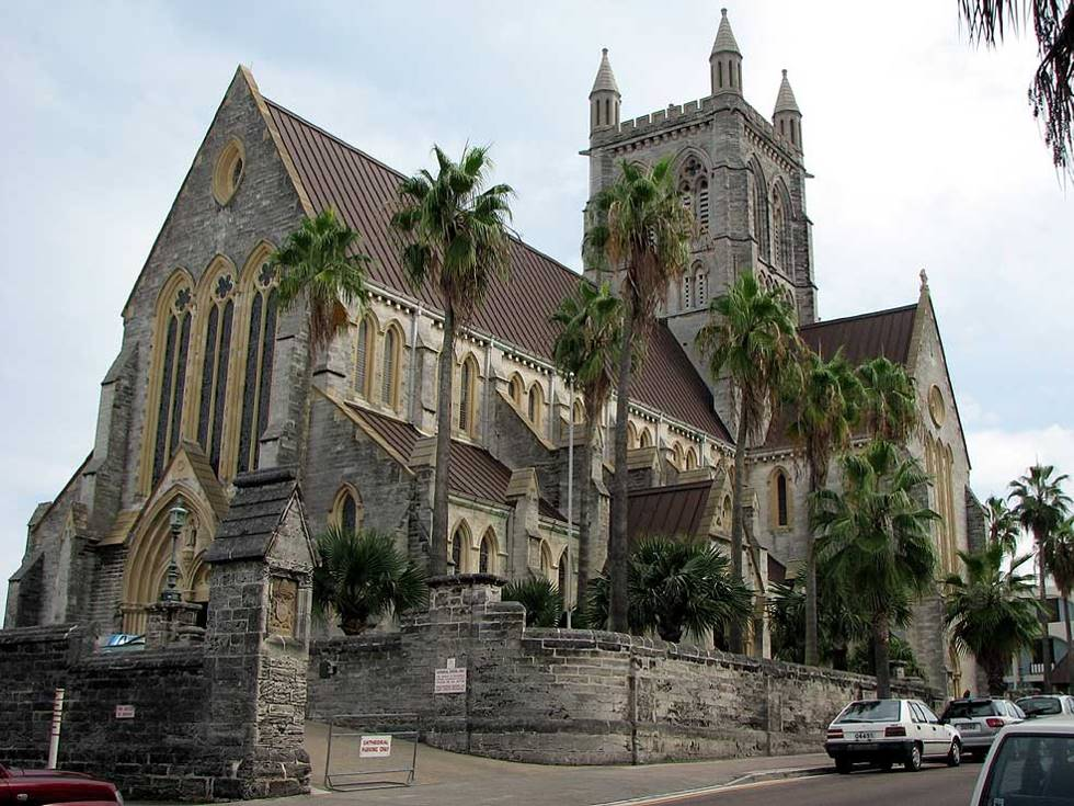 Bermuda Anglican Cathedral of the Most Holy Trinity