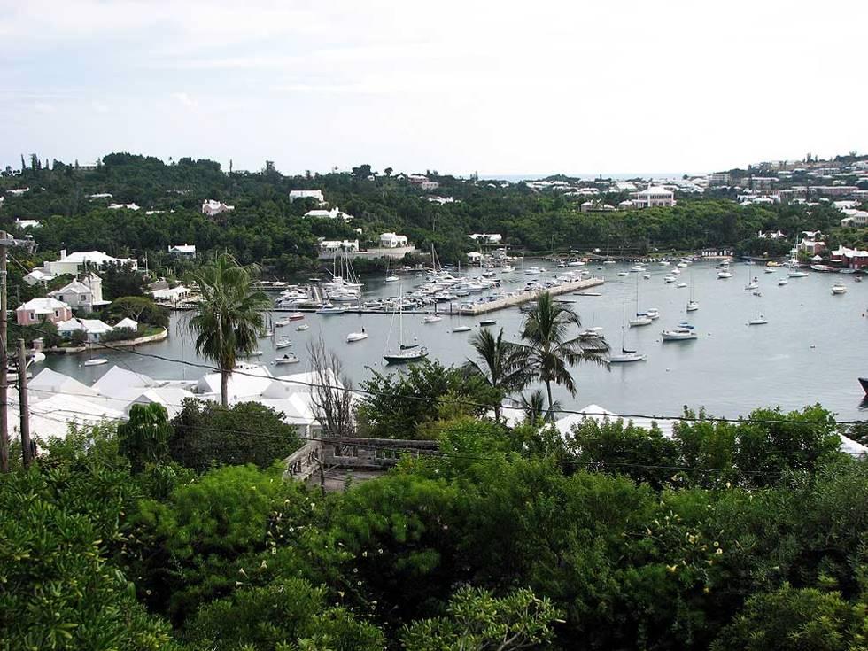 Bermuda Fort Hamilton view