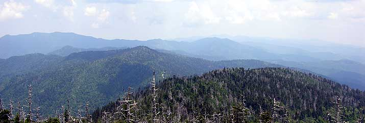 Great Smoky Mountains National Park observation tower