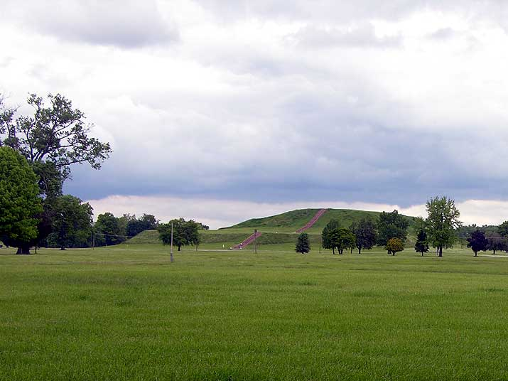 Cahokia Mounds Monks Mound