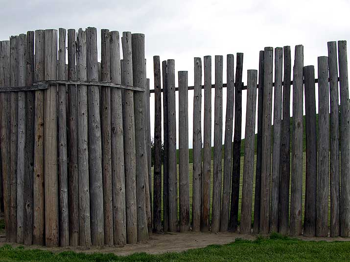Cahokia Mounds Reconstruction of the First Stockade