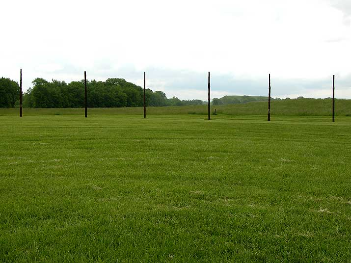 Cahokia Mounds Woodhenge