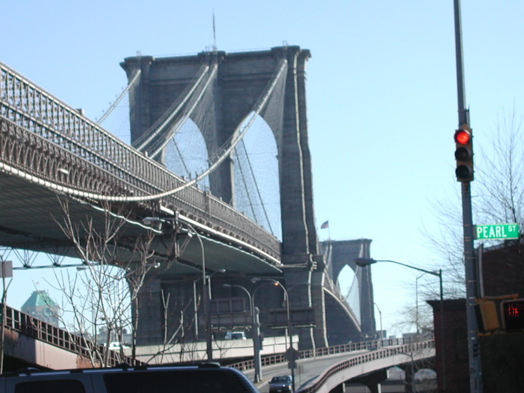 Brooklyn Bridge - Closer
