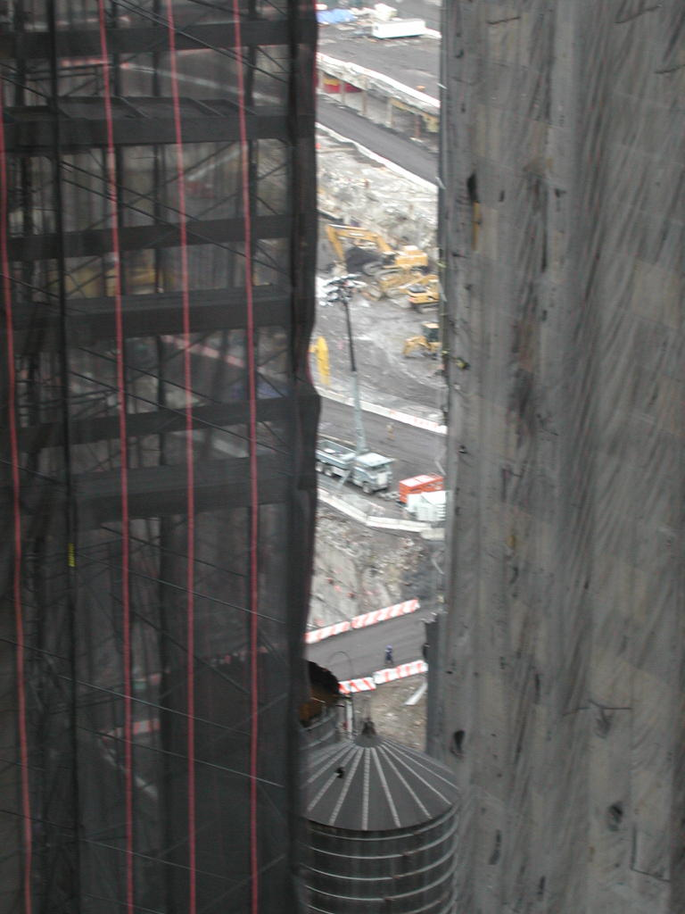 View of Ground Zero from the Marriott Financal Center